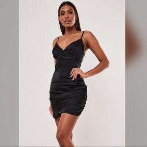 Satin mini dress | Missguided